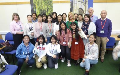 Chinese student teachers visit Cambridge to learn about Early Years.